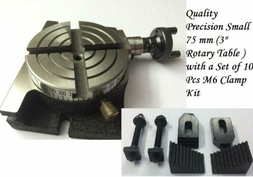 """Rotary Table 3/"""" Inches 75 mm CLAMP KIT"""