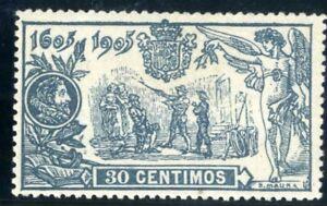 Sellos-de-Espana-1905-n-261-El-Quijote-Alfonso-XIII-nuevo-stamps-Spain