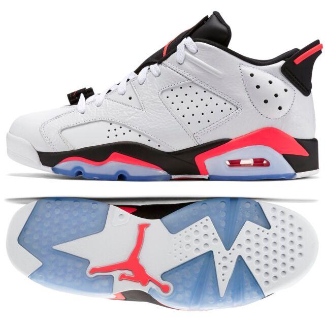 timeless design 76969 26efc Nike Air Jordan 6 VI Retro Low 304401-123 White Infrared 23 Black