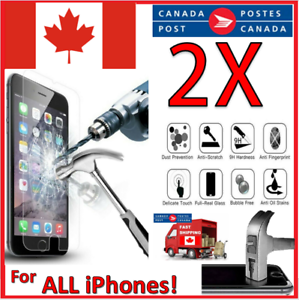 For All iPhone 12 Pro Mini 11 X XR XS 8 7 6 Max Tempered Glass Screen Protector