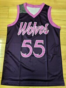 Mitch Creek Minnesota Timberwolves Purple Rain Replica Nbl Nba