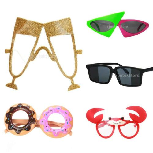 Funny Party Glasses Sunglasses Costume Crab Champagne Glass Popsicle Shaped