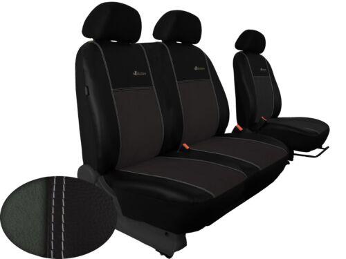 hier in GRAU. Sitzbezüge 1+2 für VW T5 Caravelle Alkantra mit Kunstleder