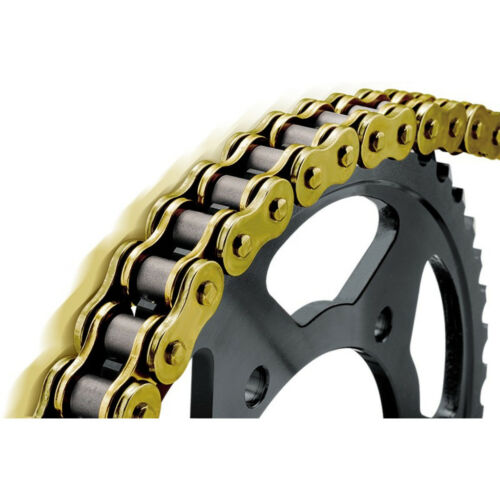 Renthal Black Sprocket and Gold Chain Kit Yamaha YZ125 YZ 125 05-15 13-50T
