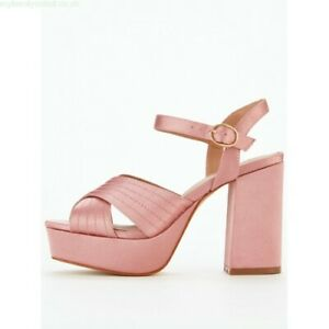 Platform Sandals Shoes Heels Size 6