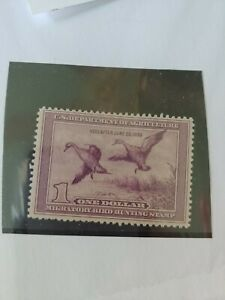 DUCK Stamps US #RW5 Mint NH F VF Single 1939 Professionally Graded DUCK HUNTING