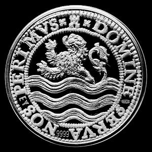 SKU#188669 2018 Netherlands 2 oz Silver Proof Lion Dollar w//Box /& COA