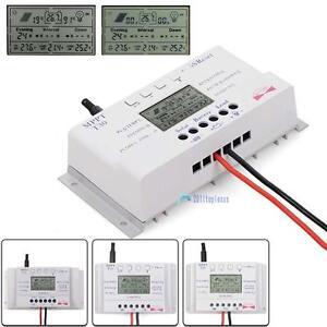 LCD-10-40A-12V-24V-MPPT-Solar-Panel-Regulator-Charge-Controller-3-Timer-G