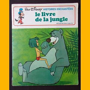 Collection-Histoires-Enchantees-LE-LIVRE-DE-LA-JUNGLE-Walt-Disney-1979