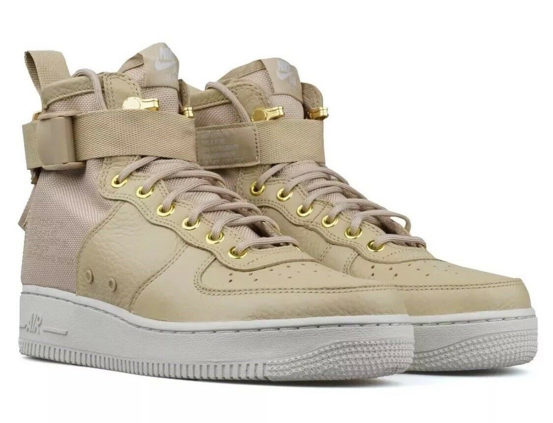 The most popular shoes for men and women Nike Men's SF AF1 Mid Shoe NEW AUTHENTIC Mushroom/Mushroom-Light Bone 917753-200