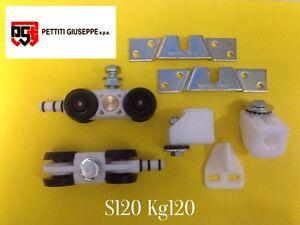 Scorrevoli-in-Kit-portata-KG-120-S120-con-binario-cm-230-Monosilent-Pettiti
