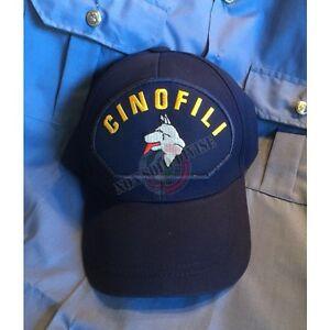 Caricamento dell immagine in corso Berretto-Cappello -Baseball-Cap-logo-Ricamato-Cinofili-Soccorso- 5ac486f7cd44