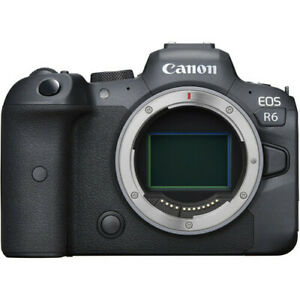 Canon EOS R6 20.1MP Mirrorless Digital Camera - Black (Body Only)