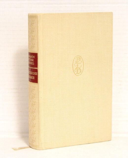 Johann Peter Hebel, Poetische Werke