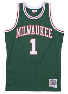 482faf282 Image is loading Oscar-Robertson-Milwaukee-Bucks-Mitchell-amp-Ness-NBA-