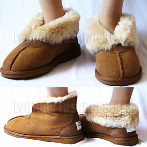 70912946f9e Details about Kangroo® Brand Australian Sheepskin Mens/Womens/Ladies  Moccasins Ugg Slippers