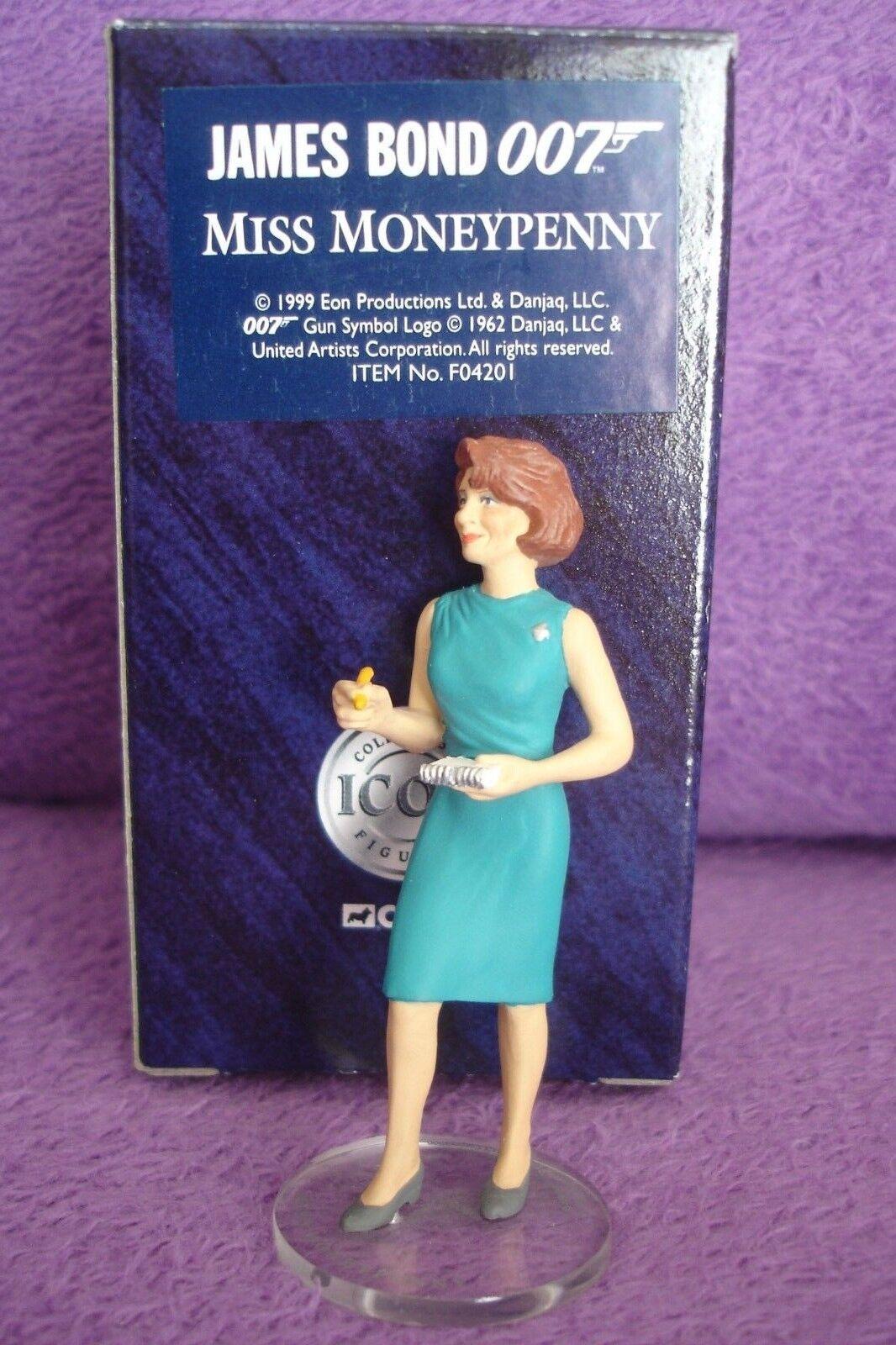 Corgi Icon James Bond 007 Boxed Figure Miss Moneypenny # F04201 c1999 | Moins Cher