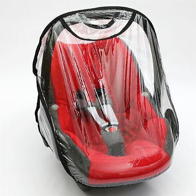 Black Rain Cover to fit CYBEX CLOUD Q Z car seat Raincover VENTILATED