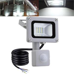 1pcs-10W-LED-Flood-Light-Cool-White-PIR-Motion-Sensor-Floodlights-Outdoor-Lamp