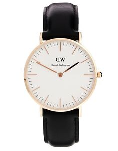 New-Daniel-Wellington-Watch-Classic-Sheffield-Rose-Gold-Black-Leather-0508DW