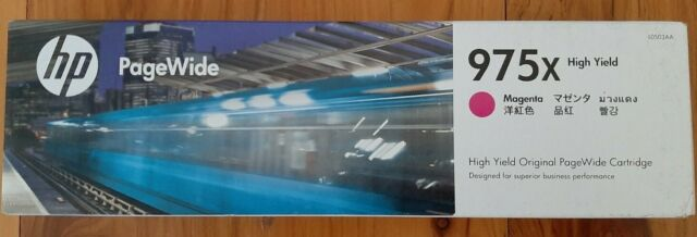 HP Genuine 975X  MAGENA Ink for PageWide Pro 452dw/552dw/477dw/577dw