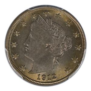 1912-D Liberty Head Nickel PCGS MS64
