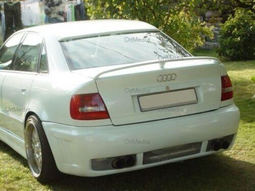 Preiswert-Tunen Heckspoiler mit Stop für Audi A4 B5 94-01 Spoiler GRUNDIERT