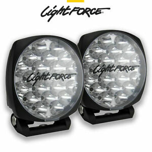 LIGHTFORCE VENOM PAIR 21 LED 75 WATT 150MM DRIVING LIGHTS LAMPS SPOTLIGHTS 939M