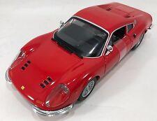 Bburago - 18-26015 - Ferrari 246 GTB Dino Scale 1:24 - Red