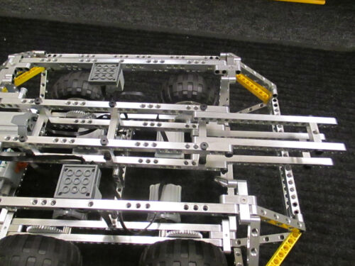 """9 unit long /""""CURVED/"""" aluminum construction beam Works with Lego Technic kits."""