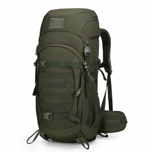 Tactical Military Backpack 50L Internal Frame Hiking Travel Outdoor Camping Bag