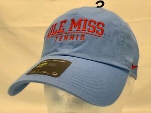 Nike Ole Miss Rebels Tennis Slouch Cap Hat Heritage86  Campus Cap New