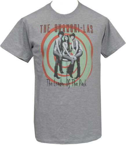Mens SHANGRI LAS T-Shirt Leader of the Pack 60/'s Girlband Female Pop Band S-5XL