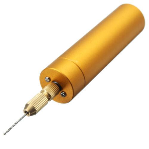 DC5V Mini Portable Handheld Drill À faire soi-même Micro électrique à la main avec 10x Torsion Bits