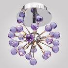 Modern K9 Crystal Chandelier Ceiling Pendant light Fixture 6 lights Euro Style d