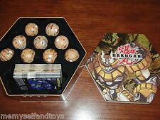 BAKUGAN TIN SUBTERRA BAKUTIN 18 BAKUGAN 18 GATE 18 ABILITY CARDS  Spin Master