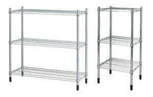 galvanised ikea omar shelving storage unit adjustable shelves rh ebay co uk DIY Adjustable Shelving DIY Adjustable Shelving