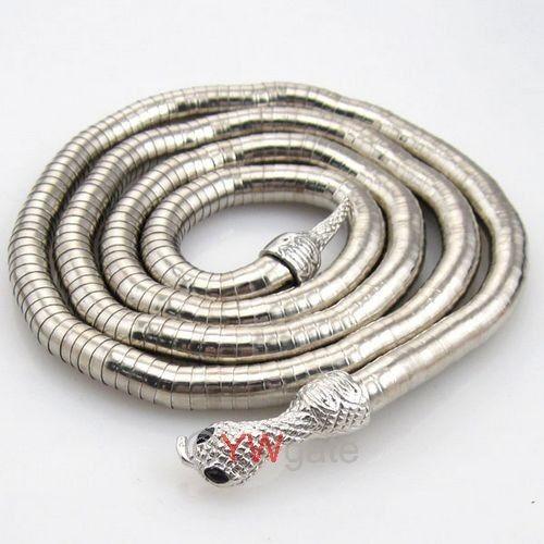 1pcs Mixed Bendy Snake Chains Necklace//Bracelet Flexible 90cm FREE SHIP