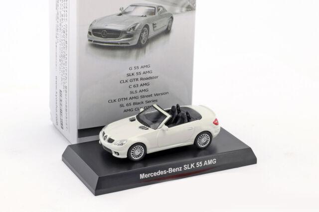 Mercedes-Benz SLK 55 AMG Cabriolet White 1:64