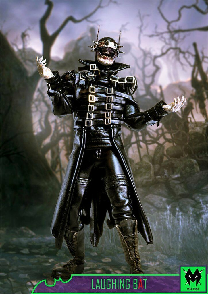 1/6 Batman Who Laughs Figure USA Laughing Bat Dark Knight Metal Toys Hot MX DC