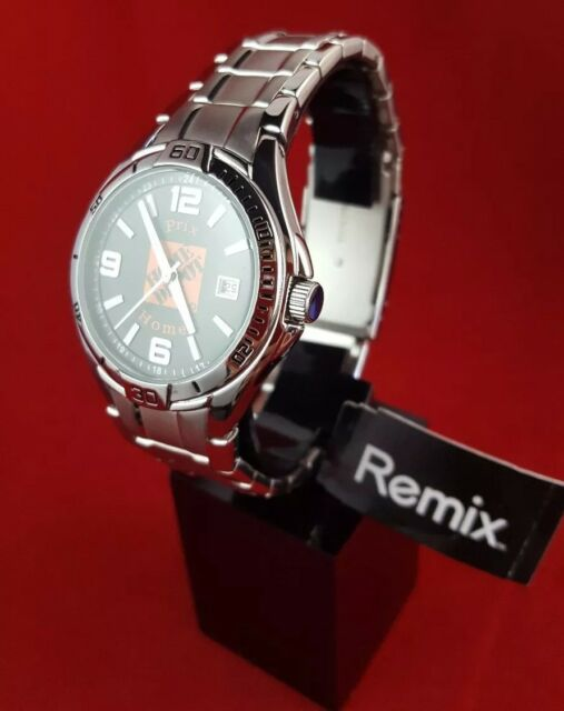 3e5f3ee2c563 Fossil Remix PR3044 Home DEPOT Silver Tone Analog Watch Size 7 1 2