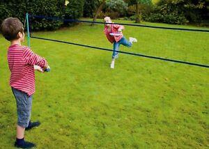 Net Ball and Shuttlecock Racket 2 Player Tennis /& Badminton Set for Kids incl