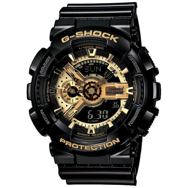 Orologio Casio G-Shock Auto Led Gold GA-110GB-1AER