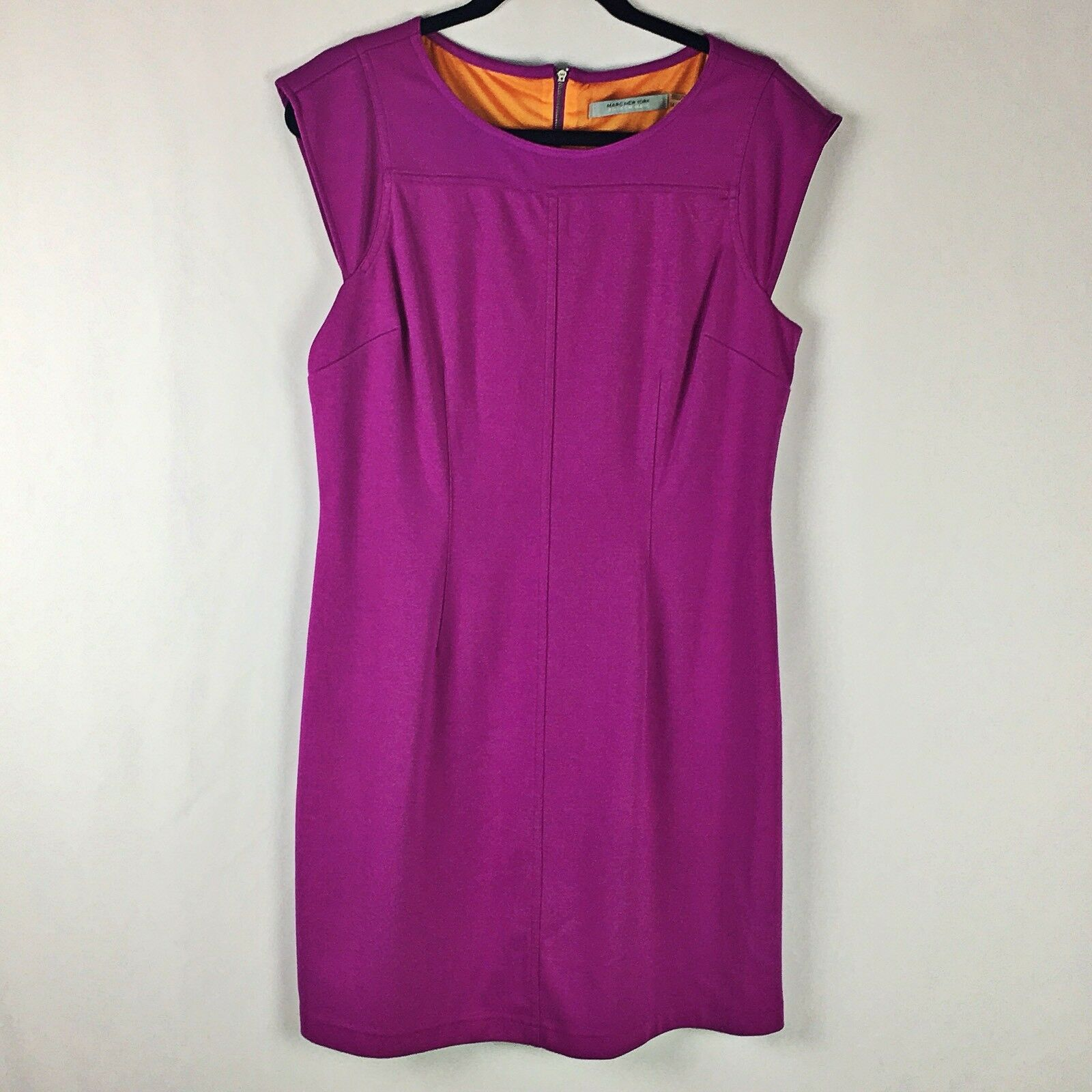 Marc New York Women's Pink Cap Sleeves Dress Size 14