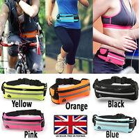 For Any Acer Liquid Sports Running Waist Band Pack / 2 Pockets+ Bottle Holder