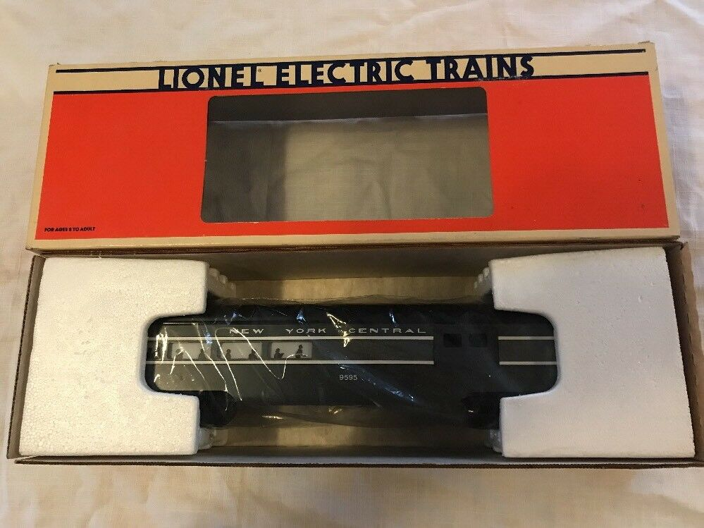 Lionel NYC 6-9595 Nuovo York Central Aluminum Combination Passenger Car MIB