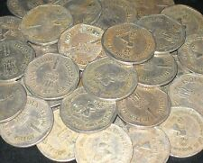 100 Coins LOT 1990 CARE FOR THE GIRL CHILD -  Rupee 1 Commemorative Coin india