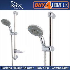 MX-3-Mode-Shower-Kit-in-Chrome-with-Riser-Rail-Shower-Head-Hose-RAM