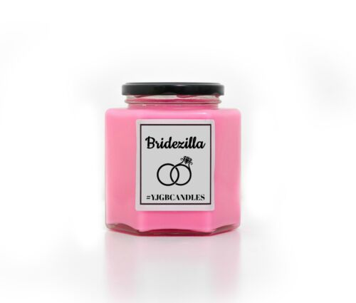 Funny Engagement Gift Bridezilla Candle Scented Candle Gift For A Bride To Be