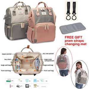 Baby Diaper Nappy Changing Mummy Bag Large Rucksack Hospital Maternity Backpack Baby Baby Changing & Nappies